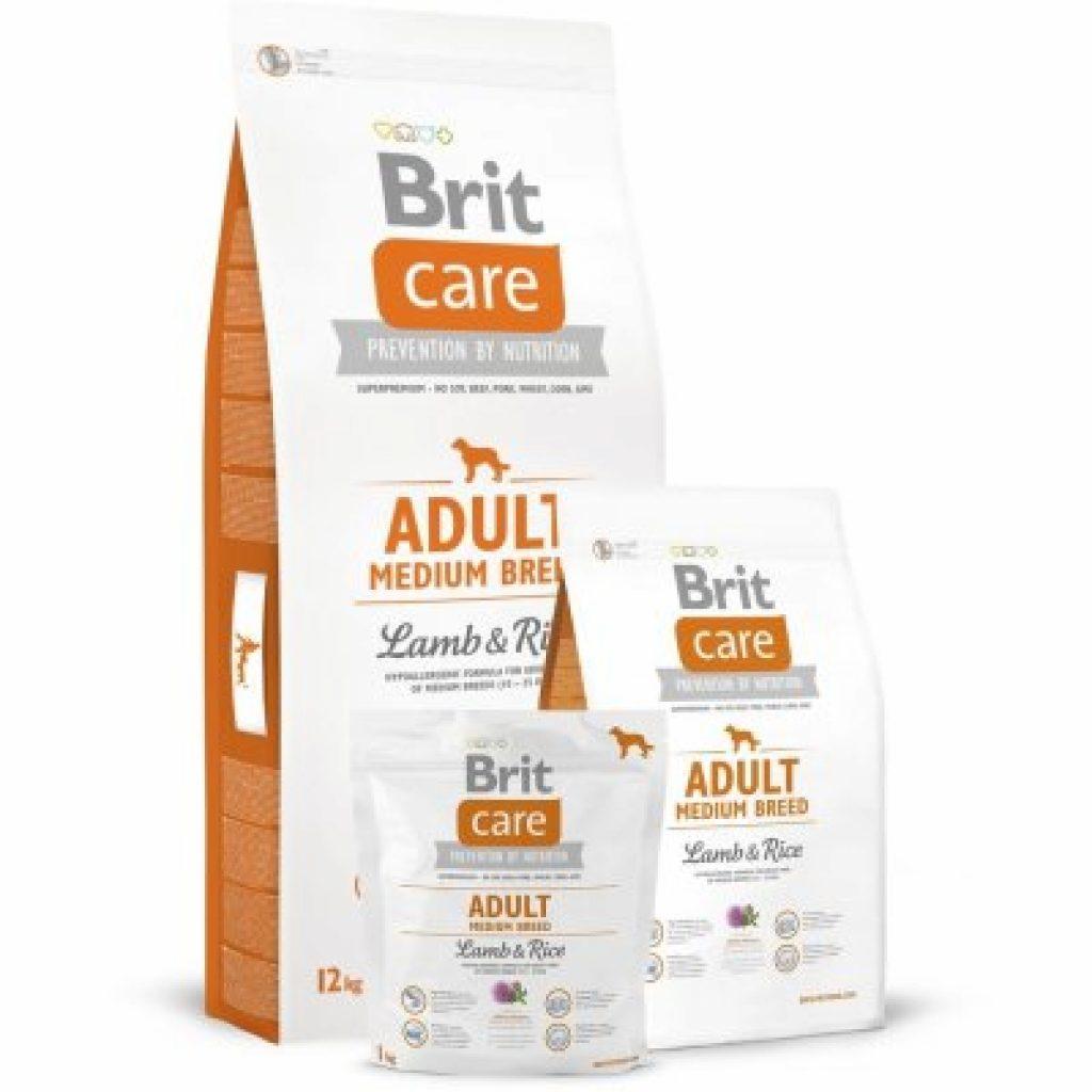 Obrázek k recenzi Brit Care Adult Medium Breed Lamb & Rice 12 kg