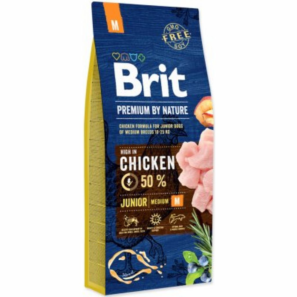 Obrázek k recenzi Brit Premium by Nature Junior M 15 kg