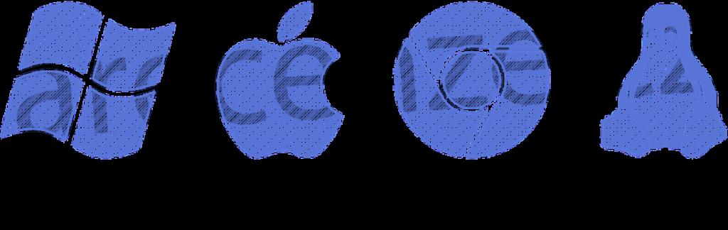 Obrázek zobrazuje schéma operačních systémů