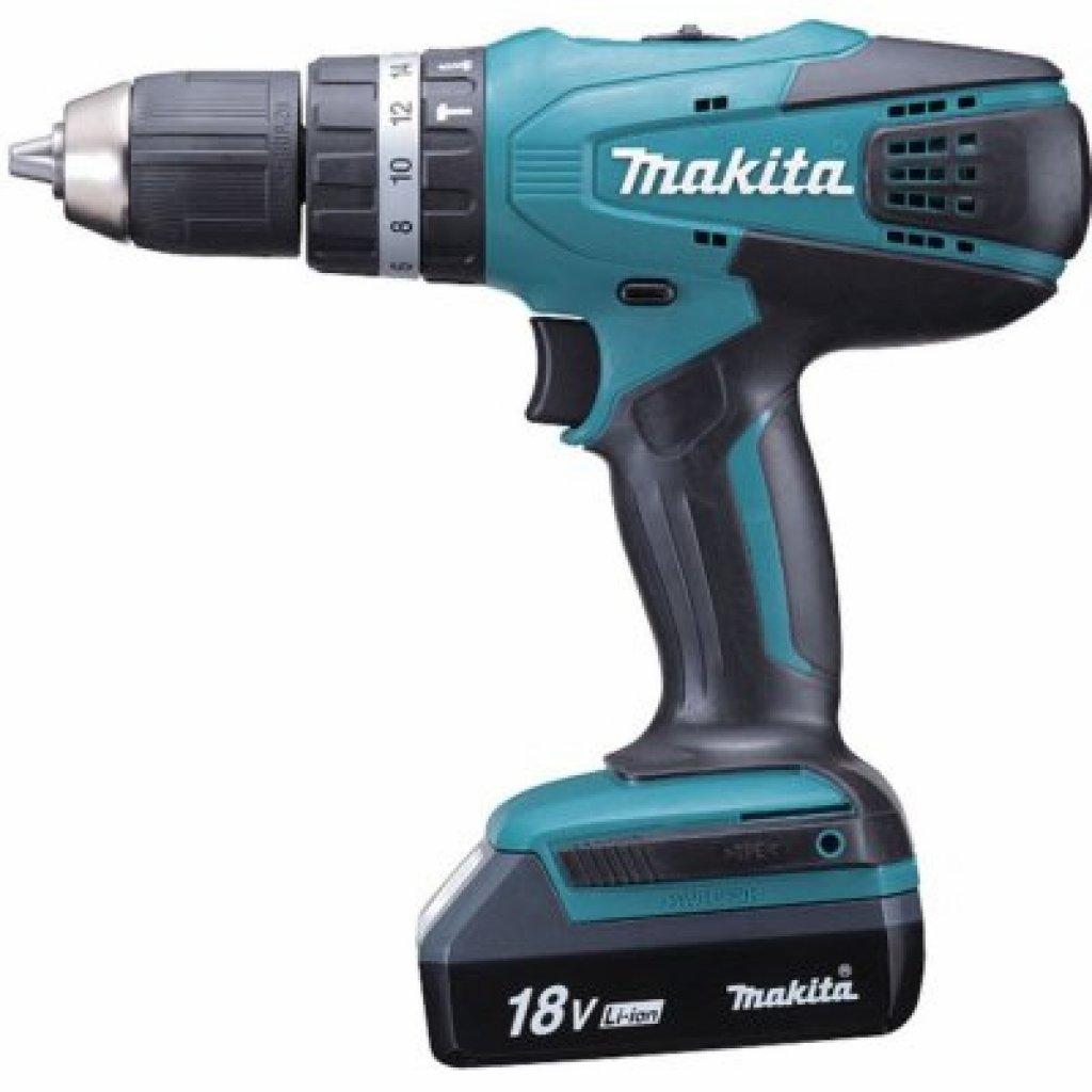 Obrázek zobrazuje produkt Makita HP457DWE